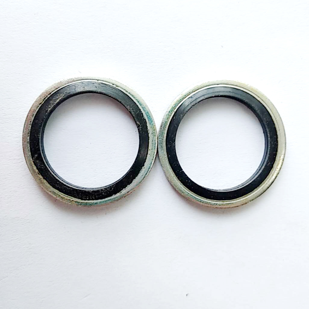 NBR Bonded Gasket / Metal + Rubber Gasket / Sealing Washer